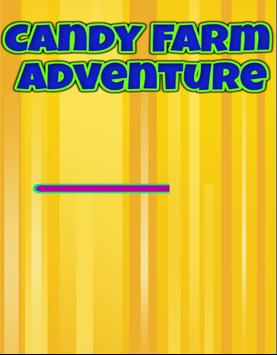 Candy Farm Adventure poster
