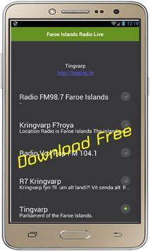 Faroe Islands Radio Live poster