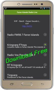 Faroe Islands Radio Live screenshot 1