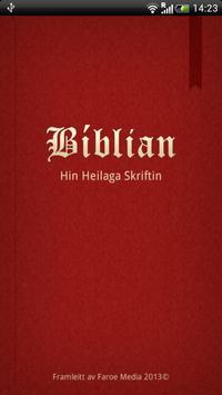 Bíblian poster