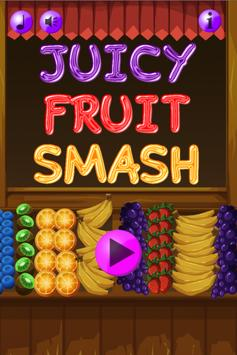 Juicy Fruit Smash poster