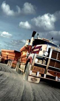 Big Trucks Themes poster