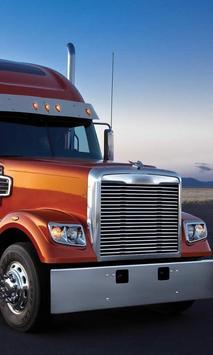 Themes Freightliner Cor Trucks poster