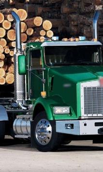 Themes Kenworth T800 Trucks poster
