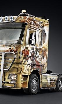 Themes Mercedes Benz Trucks apk screenshot