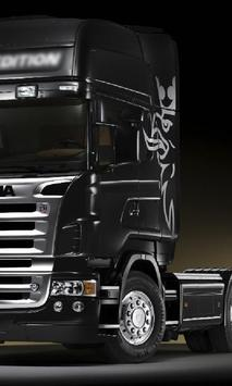 Themes Scania R480 Trucks poster