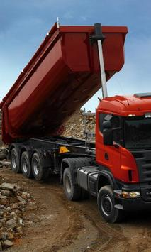 Themes Scania R420 Trucks poster