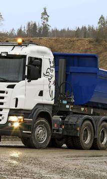 Themes Scania R560 Trucks poster