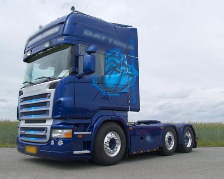 Themes Scania R580 Trucks apk screenshot