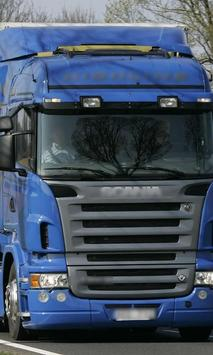Themes Scania R500 Trucks poster