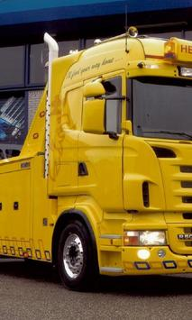 Themes Scania R500 Trucks apk screenshot