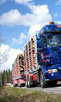 Themes Scania R620 Trucks poster