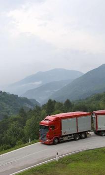 Themes Scania Trucks poster