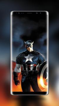 Captain America Wallpaper HD screenshot 4