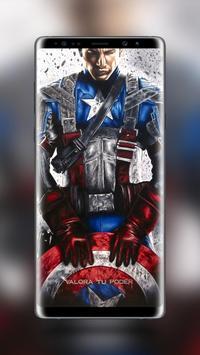 Captain America Wallpaper HD poster