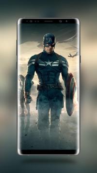 Captain America Wallpaper HD screenshot 1