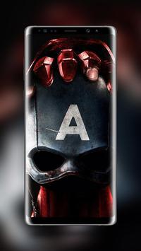 Captain America Wallpaper HD screenshot 2