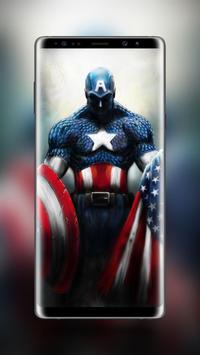 Captain America Wallpaper HD screenshot 3