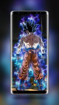 Ultra Instinct Goku Wallpapers New apk screenshot