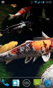 Magic Touch Koi Fish apk screenshot
