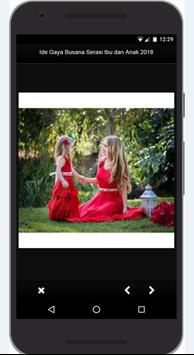 Idea Dress Style Match Mother and Child 2018 screenshot 12