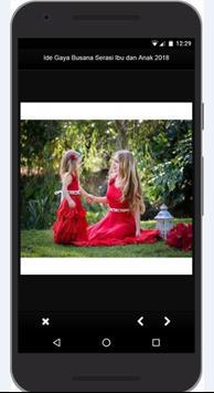 Idea Dress Style Match Mother and Child 2018 screenshot 2