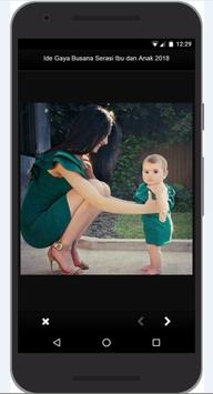 Idea Dress Style Match Mother and Child 2018 screenshot 4