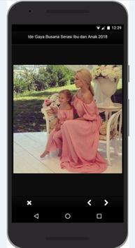 Idea Dress Style Match Mother and Child 2018 screenshot 5