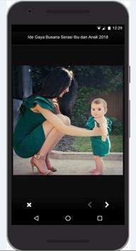 Idea Dress Style Match Mother and Child 2018 screenshot 9