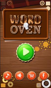 Word Oven - Bake Brain Cookies poster
