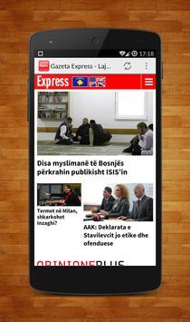 Gazeta Express - Lajmi Shqip apk screenshot