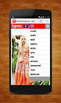 Gazeta Express - Lajmi Shqip poster