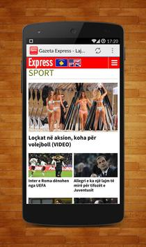Gazeta Express - Lajmi Shqip screenshot 2
