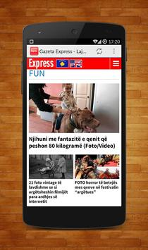 Gazeta Express - Lajmi Shqip screenshot 3