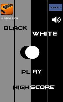 BlackWhite poster