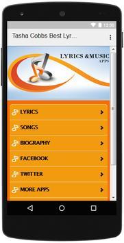The Best Music & Lyrics Tasha Cobbs screenshot 1