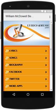 The Best Music & Lyrics William McDowell screenshot 1