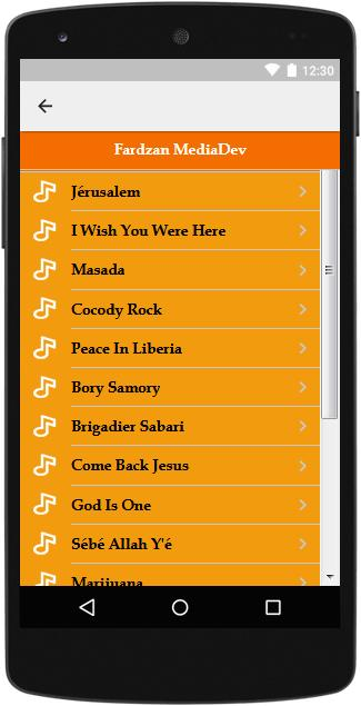 The Best Music Lyrics Alpha Blondy For Android Apk Download