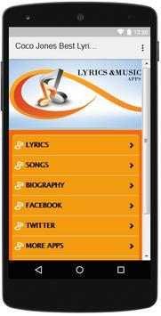 The Best Music & Lyrics Coco Jones screenshot 1