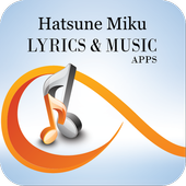 The Best Music & Lyrics Hatsune Miku icon