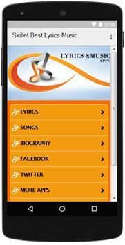 The Best Music & Lyrics Skillet screenshot 1
