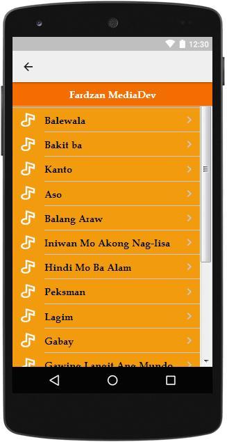 The Best Music & Lyrics Siakol cho Android - Tải về APK
