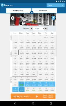 Fareness - Book Flights on the Cheapest Dates apk screenshot