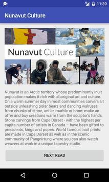 Nunavut Culture poster