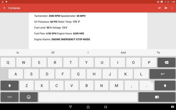 Faria Marine Instruments apk screenshot