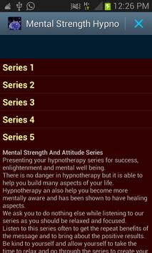 Mental Strength Hypno poster
