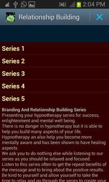 Relationship Building Hypno poster