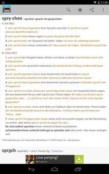 Deutsches Wörterbuch 스크린샷 12