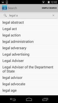 Legal screenshot 4