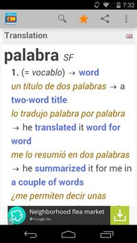 Spanish Dictionary by Farlex poster